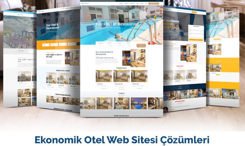 Ekonomik Otel Web Sitesi Çözümleri – HMS Site